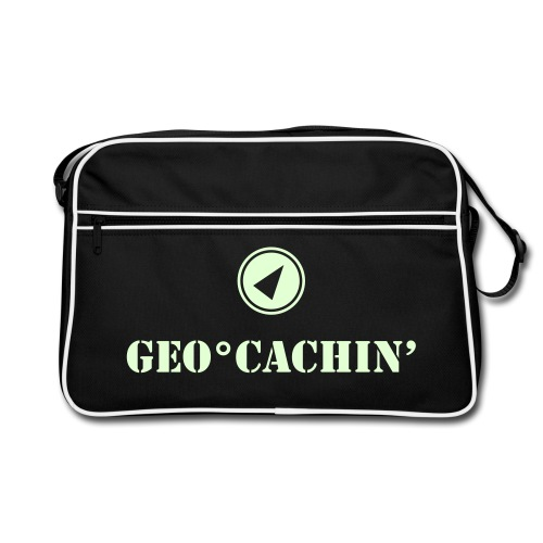 Geocaching - Retro Tasche