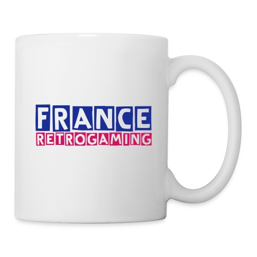 MUG France Retrogaming - Mug blanc