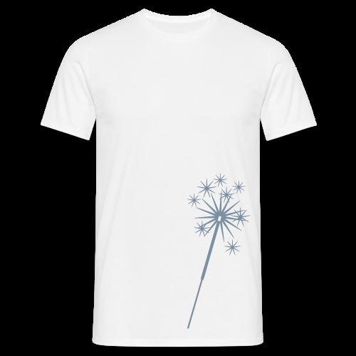 shirt silvester - wunderkerze - Männer T-Shirt