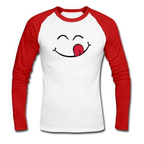 Smileshirt - Mannen baseballshirt lange mouw