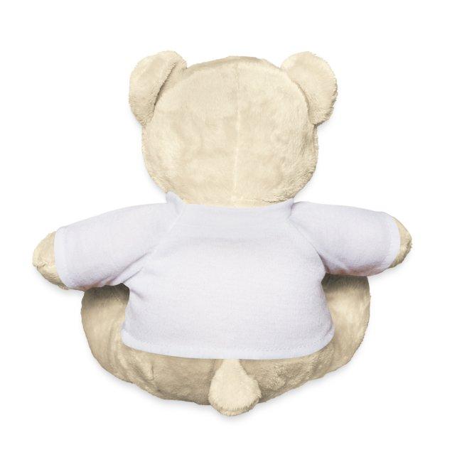 Nounours teddy  impression coeur à son nom