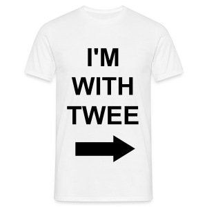 I'M WITH TWEE - Men's T-Shirt