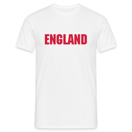 White England Tee - Men's T-Shirt
