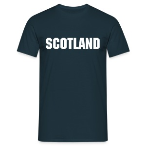 Blue Scotland Tee - Men's T-Shirt