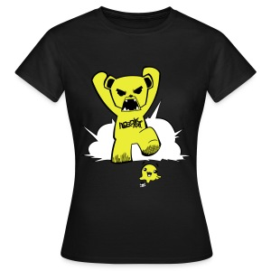Ours Piraterie NordikArt - T-shirt Femme