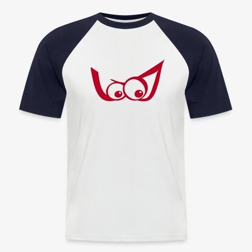 Z-Maske - Männer Baseball-T-Shirt