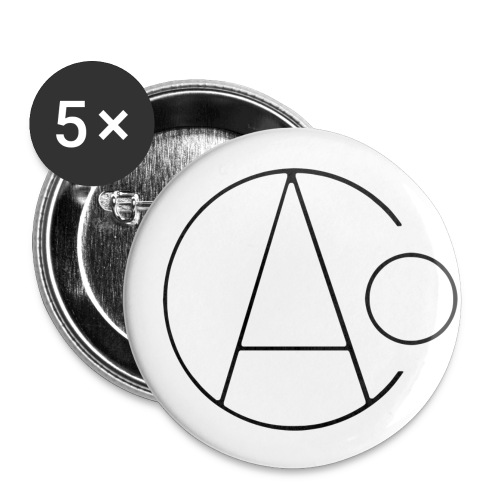 AOC Logo Badges - 5 pack - 25mm - Buttons small 25 mm
