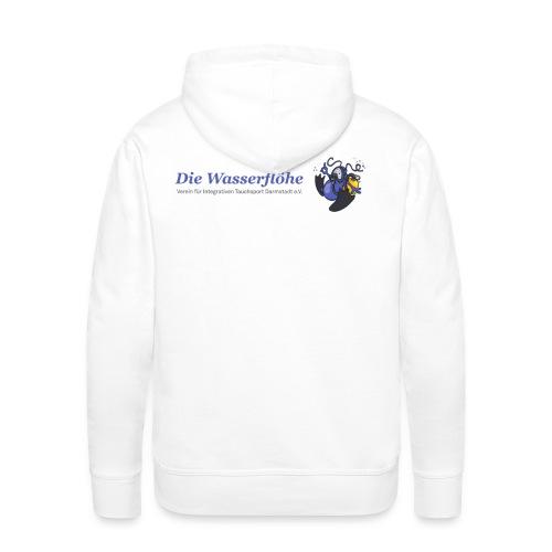 Die Wasserflöhe hinten (weiß) - Männer Premium Hoodie