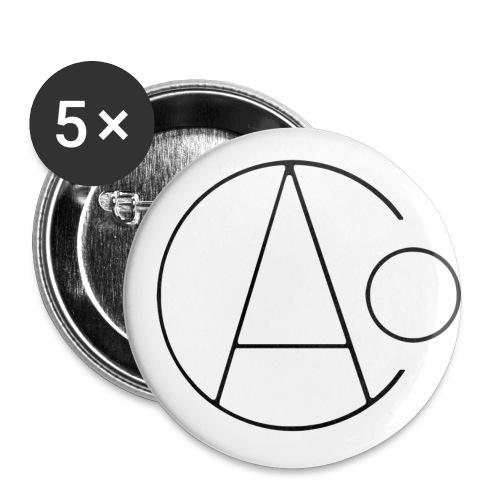 AOC Logo Badges - 5 pack - 32mm - Buttons medium 32 mm