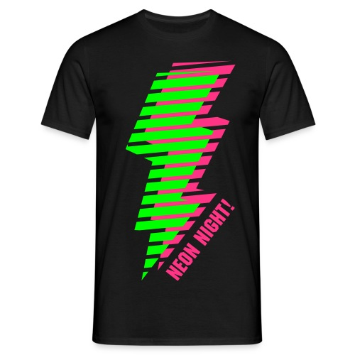 Neon Night ! - Männer T-Shirt