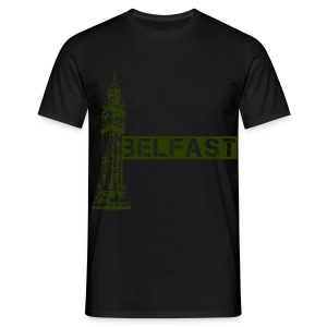Albert Clock Belfast - Men's T-Shirt