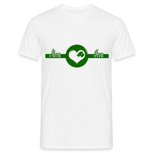 Norn Iron Heart - Men's T-Shirt