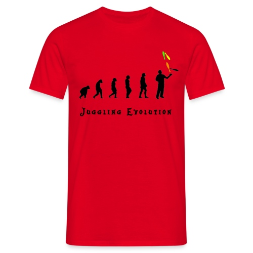 Juggling evolution - T-shirt Homme