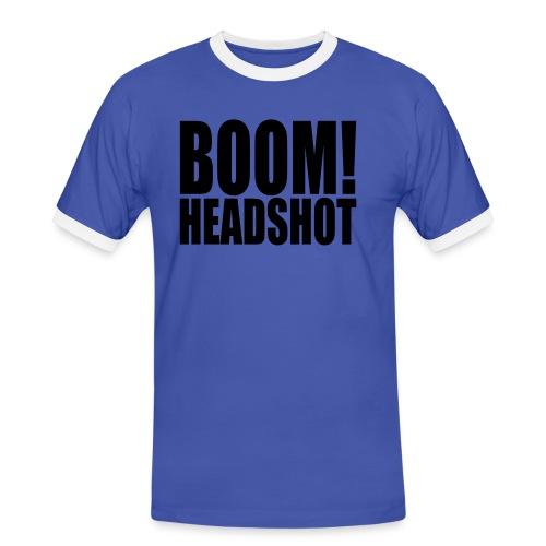 Boom Headshot - Men's Ringer Shirt