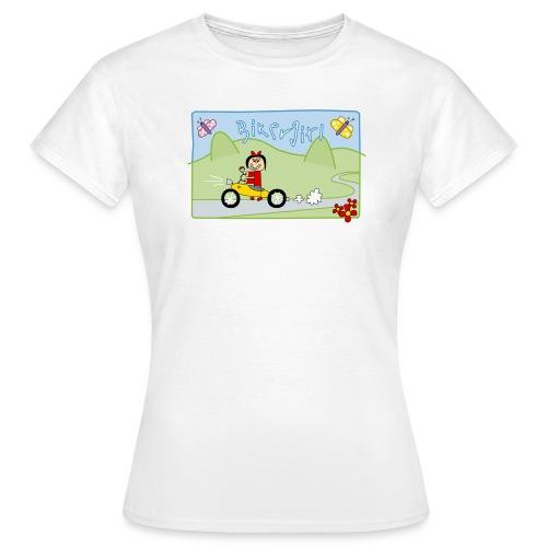 Bikergirl - Frauen T-Shirt