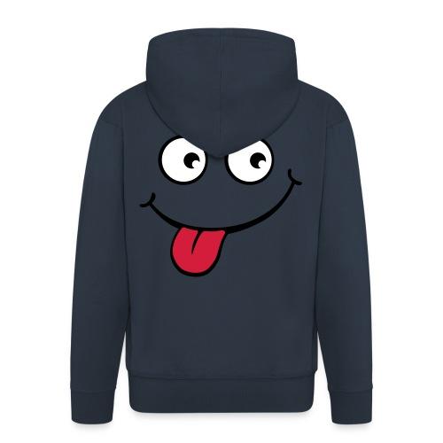 Blue Hoodie - Men's Premium Hooded Jacket