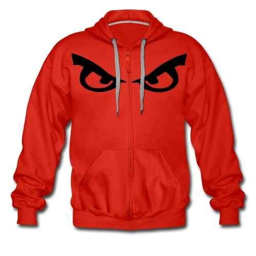Red Hoodie - Men's Premium Hooded Jacket
