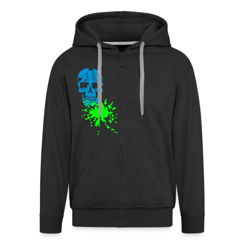 Bones and Blood- Mens Hoodie - Men's Premium Hooded Jacket