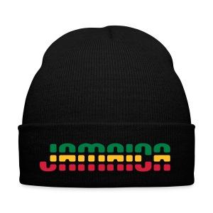 Jamaica Mütze in Reggae-Farben - Wintermütze