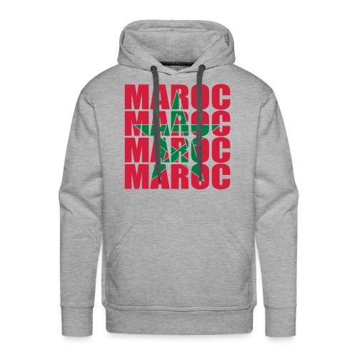 Maroc's my life Sweat - Sweat-shirt à capuche Premium pour hommes