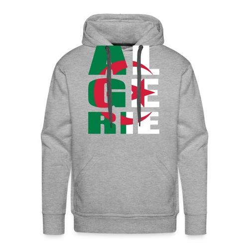 I love AlgerieSweat - Sweat-shirt à capuche Premium pour hommes