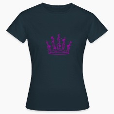 Sleeping Beauty crown of roses and thorns T-Shirts