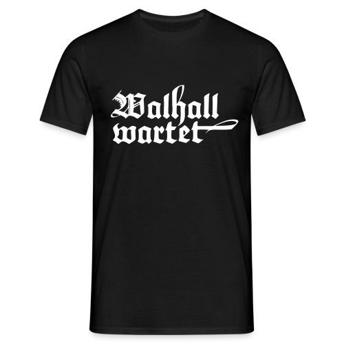 T-Shirt Wallhall wartet klassisch - Männer T-Shirt
