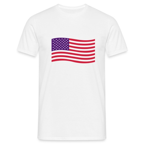 camiseta EE.UU funny - Camiseta hombre