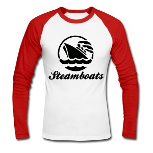 Steamboats - Men's Long Sleeve Baseball T-Shirt