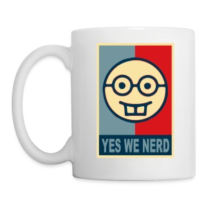 Taza nérdica Yes We Nerd - Taza