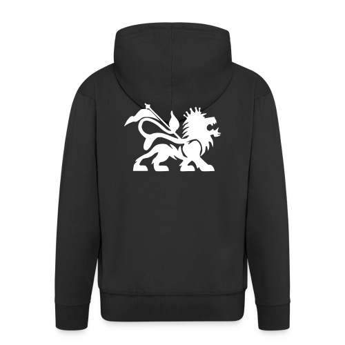 Sweat zippé RNK  Lion of Judah  - Veste à capuche Premium Homme
