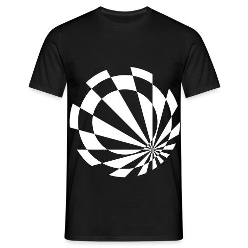 Beelo Circle3 Black - Männer T-Shirt