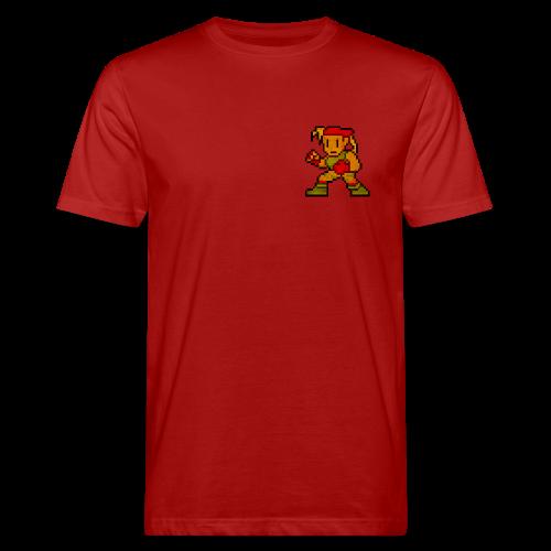 Pixelfighter ArmyGirl (Vintageprint) - Men's Organic T-shirt