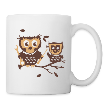 Owls do it yourself kit Mugs