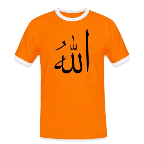I love Allah - Mannen contrastshirt