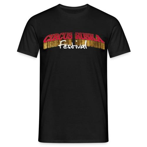 Circus Ruska Festival - Miesten t-paita