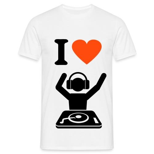 heartdj - Men's T-Shirt