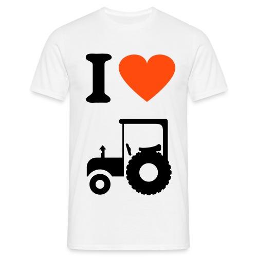ihearttractor - Men's T-Shirt