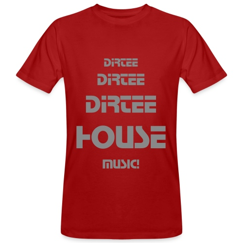 DirteeHouse (Herr) - Men's Organic T-Shirt