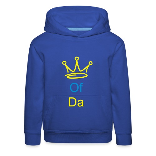 younaz king of grime - Kids' Premium Hoodie