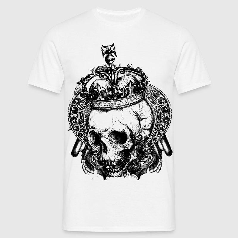 Royal Dead Skull T shirt Design T Shirt Spreadshirt