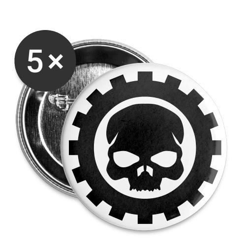 Get Into Gear Logo - Buttons klein 25 mm