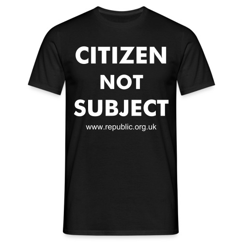 Citizen not Subject - Men's T-Shirt