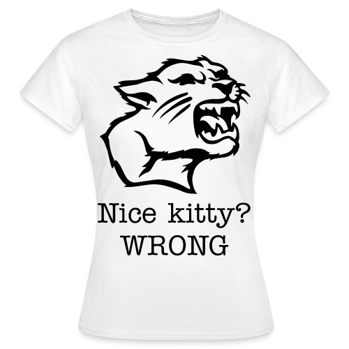 Kitty - Vrouwen T-shirt