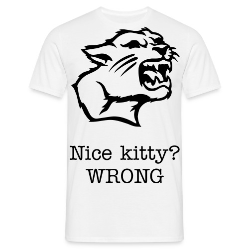 Kitty - Mannen T-shirt
