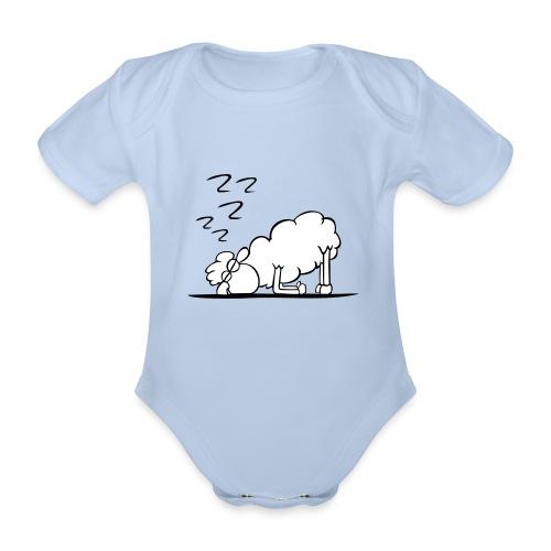 Schaf - Baby Bio-Kurzarm-Body