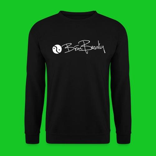 Born Beauty heren sweatshirt zwart - Mannen sweater