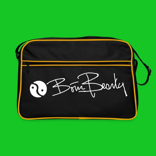 Born Beauty Retro Bag zwart - Retro-tas