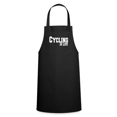 cycling is life  Aprons