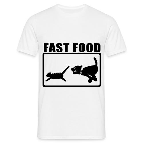 fst food men - Men's T-Shirt